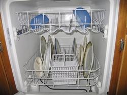 Посудомоечная машина: вид изнутри